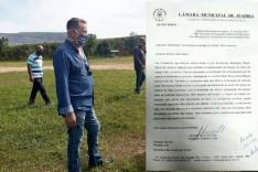 Obras de revitalização do campo do São Lourenço já é uma realidade no bairro Clóvis Alvim I