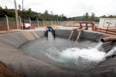 Vale conclui etapa importante para contenção de rejeitos e tratamento de água