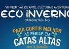 Prefeitura de Catas Altas divulga programação do Eco inverno e abre inscrições  para atividades