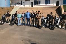 Polícia Militar recebe XRE 300 para reforçar o moto-patrulhamento