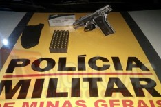 Grupo Tático Rodoviário GTR apreende pistola 380 durante operação na rodovia LMG-779 em João Monlevade