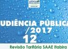 ARSAE: Audiência em Itabira irá debater proposta de reajuste de 29,1% nas contas de água e esgoto