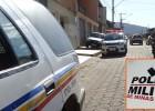 PM apreende adolescente com simulacro e celular de procedência duvidosa no bairro Juca Rosa