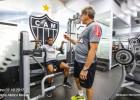 Galo treina para enfrentar o São Paulo