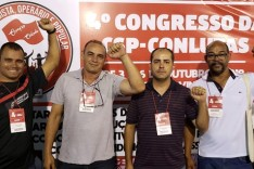 Diretores Metabase Itabira participam do Congresso Nacional da CSP-Conlutas