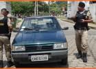 Após ter Fiat Uno furtado em estacionamento veiculo é encontrado do lado de fora no bairro São Pedro