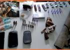 Cães da ROCCA de Itabira ajuda PM de são Domingos do Prata a apreender armas e munições