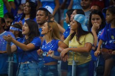 Atletas enaltecem Mineirão repleto de mulheres em jogo especial contra a URT