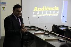 Audiência pública sobre transporte discute atribuições da empresa e da Prefeitura