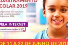 Cadastramento escolar 2019 – Inscrição para garantir vaga no ensino público