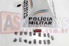ROCCA mais uma vez localiza buchas de maconha e munição próximo de associação no Nova Vista