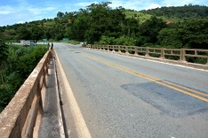 Obras de manutenção da ponte que liga bairro Santa Maria a Praia Grande e Nova Vila