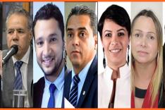 Lista dos candidatos por Itabira com seus resultados de votos, ninguém se elegeu na terra de Drummond