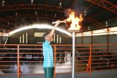 Cesb é palco de abertura dos Jogos Escolares de Santa Bárbara