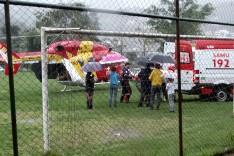 Devido quadro de saúde delicado moto-taxista é transferido para Belo Horizonte de helicóptero