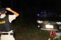 Denuncia anônima ajuda PM a localizar e recuperar caminhonete L200 tomada de assalto no Santa Ruth
