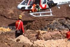 Bombeiros confirmam 157 mortos e 165 desaparecidos em Brumadinho