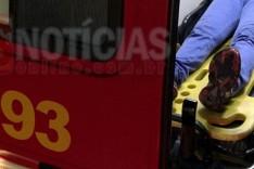 Mulher sai ilesa de capotamento na AMG-900 próximo ao trevo do Itabiruçu