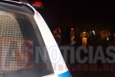 Bandidos armados levaram todo dinheiro e moto do Bar do Sô Luiz na localidade rural de Pintos