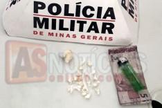 Homem é preso suspeito de agressão a ex-companheira e trafico de drogas no Gabiroba