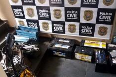 Policia Civil de Itabira prendeu suspeito por receptação de produtos furtados na Vale