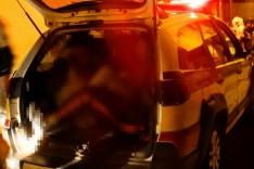 Adolescentes são apreendidos suspeitos de assaltarem homem no bairro Juca Batista