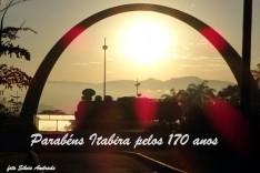 Parabéns Itabira pelos 170 anos