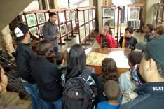 Grupo Catas Reggae de Catas Altas visita Museu do Caraça dentro do projeto de Educação Patrimonial