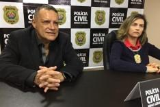 """Durante coletiva delegados afirmam: """"assassinato do sargento Célio foi premeditado"""""""