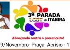 Vai Ter Parada LGBTI Sim será na Praça Acrísio Alvarenga em Itabira