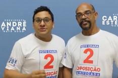 André Viana chapa 2  é o novo presidente do Sindicato Metabase de Itabira e região
