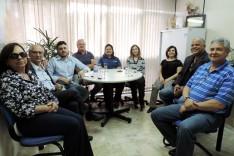 Lideranças do Rotary Internacional fazem visita na Prefeitura