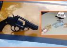 Policiais rodoviários prenderam suspeito, apreendeu um revolver e dinheiro na LMG-779 estrada do Forninho