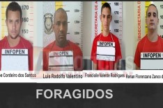 Detentos fogem da penitenciaria de Ponte Nova I no bairro Cidade Nova