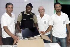 PM Santa Barbara realiza reunião comunitária com a rede de vizinhos protegidos dos bairros Tenente Carlos e São Veríssimo