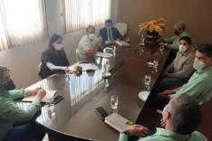 Nozinho reúne-se com diretores da Vale e pede prioridade na contratação de são-gonçalenses