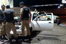 PM de Barão de Cocais durante operação de combate ao trafico prende suspeitos