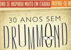 """""""30 Anos sem Drummond"""" Concurso de Poesia reúne 13 escolas em Itabira"""