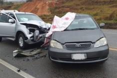 Dois acidentes na BR-381 deixou um morto e cinco feridos em Monlevade e São Gonçalo do Ri Abaixo