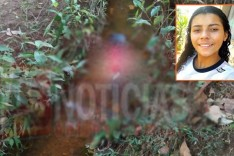 Adolescente é morta e jogada em córrego na localidade de Serra dos Alves no Distrito do Carmo