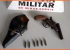 Polícia Militar Ambiental realiza operação nas regiões rurais do Angico e Cutucum, onde apreende arma de fogo e munições