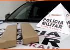 Moto-taxista é preso pela PM quando ia entregar barras de maconha no bairro Jardim das Oliveiras