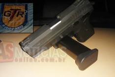 Rodoviários (GTR) e (PRV) apreendem mais uma pistola 380 na rodovia MG-436 em Barão de Cocais