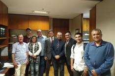 André Viana vai a Brasília discutir sobre barragens