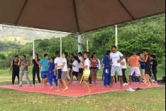 Caminhada, ginástica e artes marciais marcam Dia Mundial da Saúde e da Atividade Física em Catas Altas