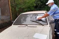 Transita inicia operação para recolhimento de veículos abandonados em vias públicas