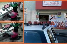 Drogaria Alcântara é assaltada antes mesmo que todas as portas fossem abertas no Centro de Itabira