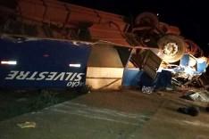 Itabirana motorista morre em um grave acidente com ônibus que capotou em Congonhas