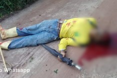 Homem é morto com tiro na cabeça na localidade rural do Córrego do Limoeiro em Passabém