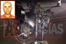 Mais um acidente entre motocicleta e animal solto em rodovia deixou um morto e uma mulher ferida em Barão de Cocais